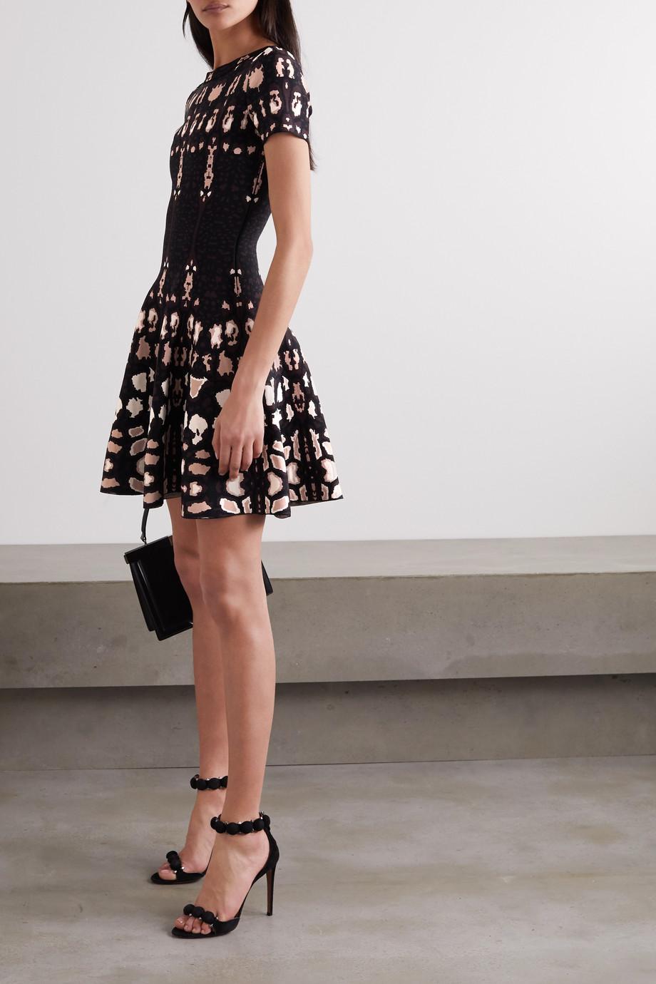 Alaïa Kleid aus Jacquard-Strick