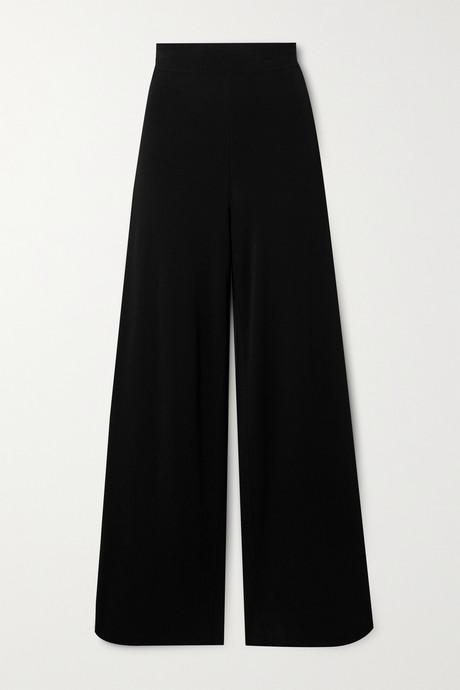 Black Crepe wide-leg pants   Alaïa kr9ysp