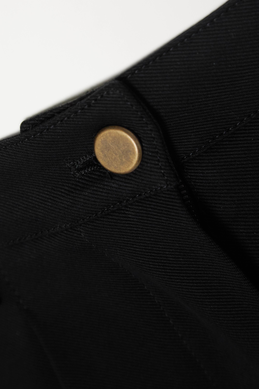 Black Edition 1990 Cotton-twill Shorts | Alaïa
