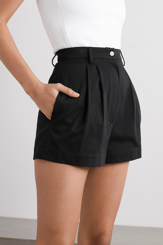 Alaïa Edition 1990 cotton-twill shorts
