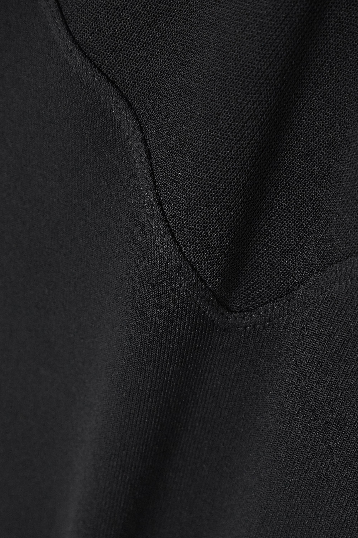 Alaïa Edition Body aus Stretch-Jersey mit asymmetrischer Schulterpartie und Cut-outs