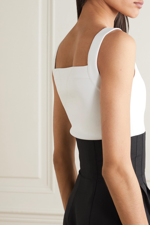 Alaïa Cropped stretch-knit top