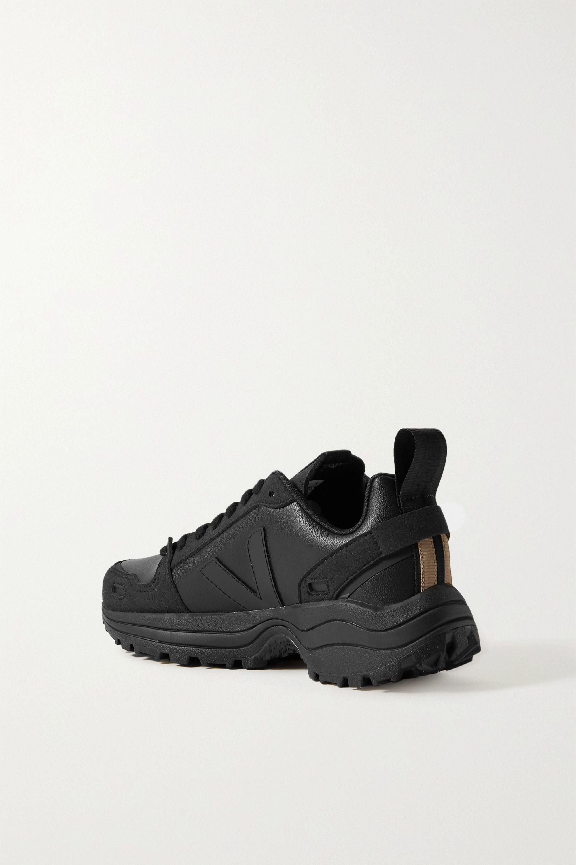 Rick Owens x Veja 纯素皮革绒面革运动鞋