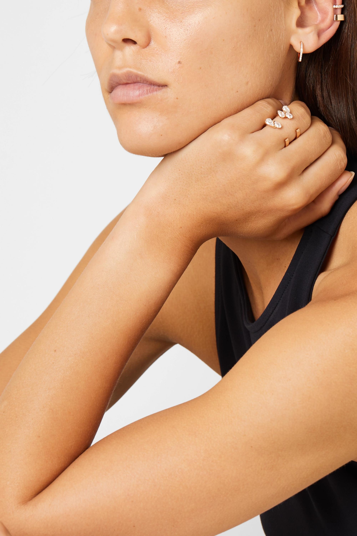 Repossi Antifer 18-karat rose gold diamond earring