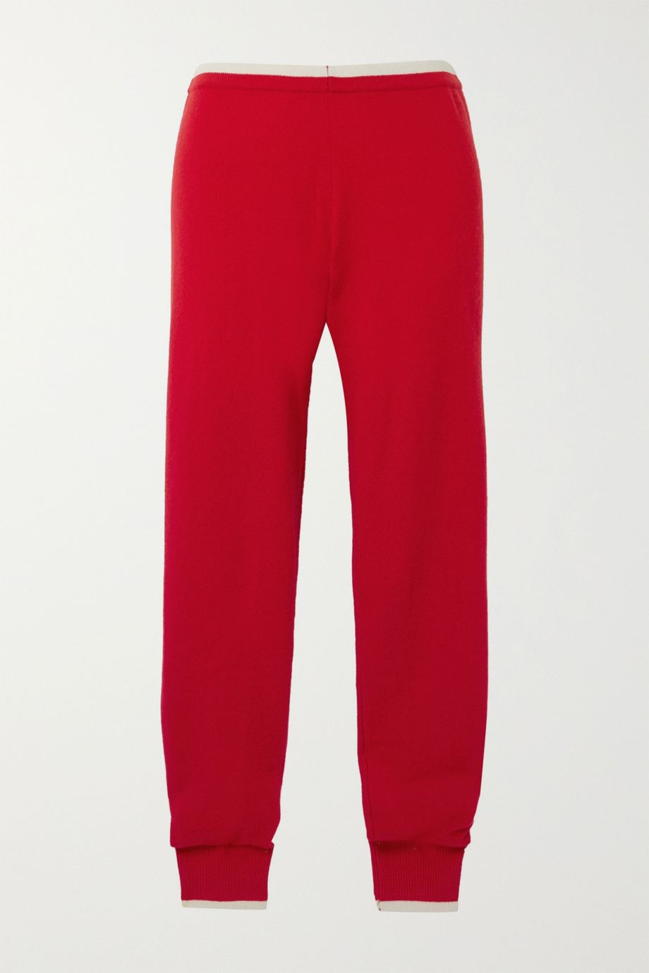 Madeleine Thompson Plutus two-tone cashmere track pants