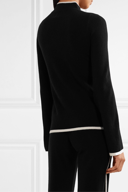 Madeleine Thompson Castor two-tone cashmere sweater