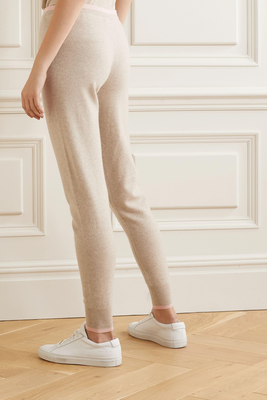 Madeleine Thompson Plutus 双色羊绒休闲裤