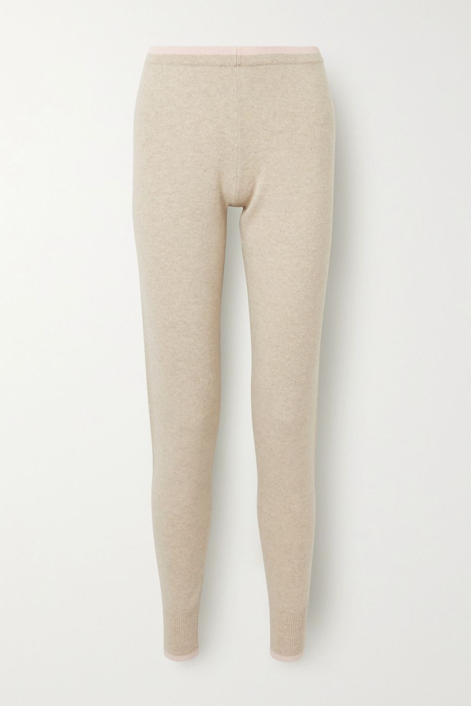 Madeleine Thompson Plutus two-tone cashmere track pants
