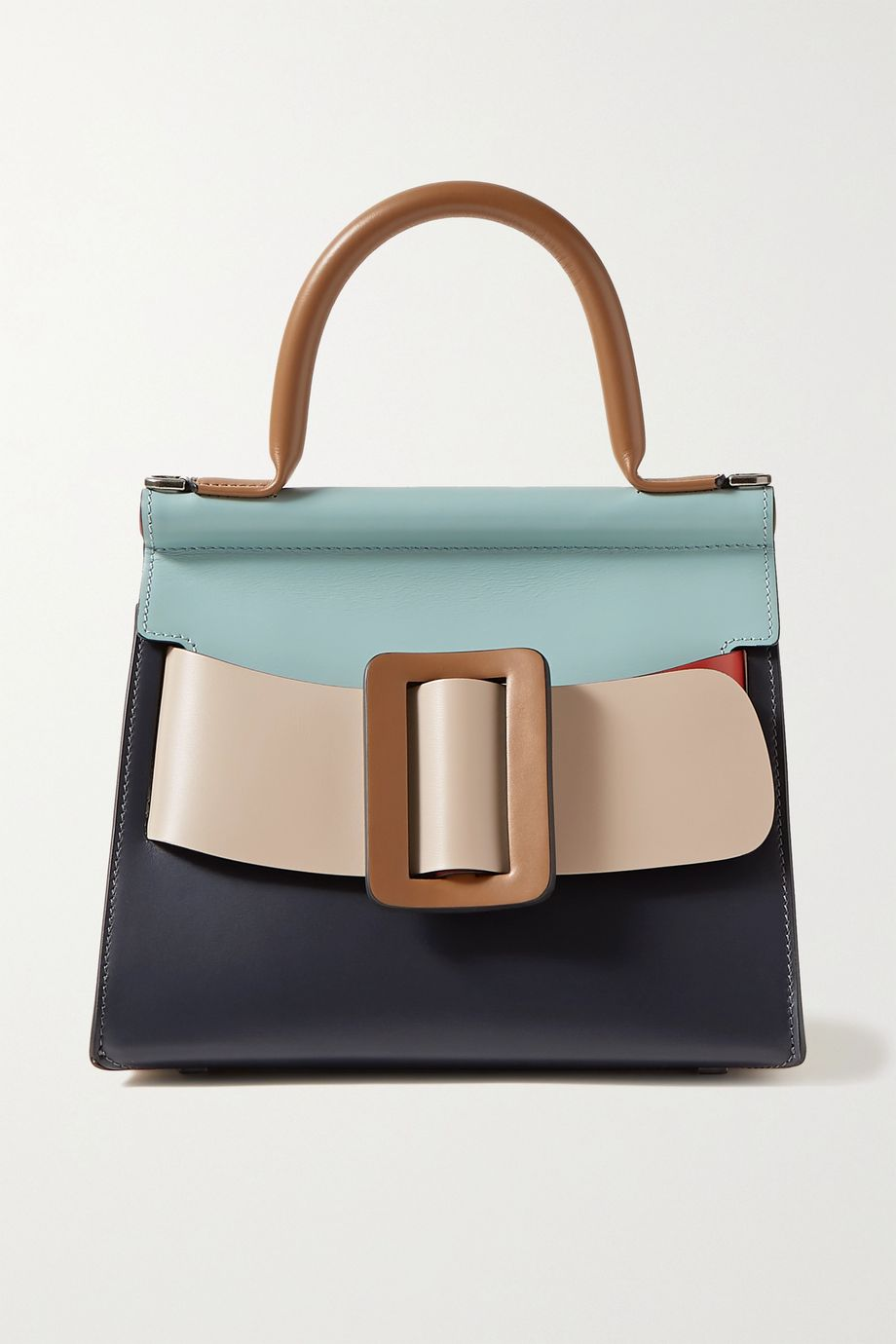 BOYY Karl 24 buckled color-block leather tote