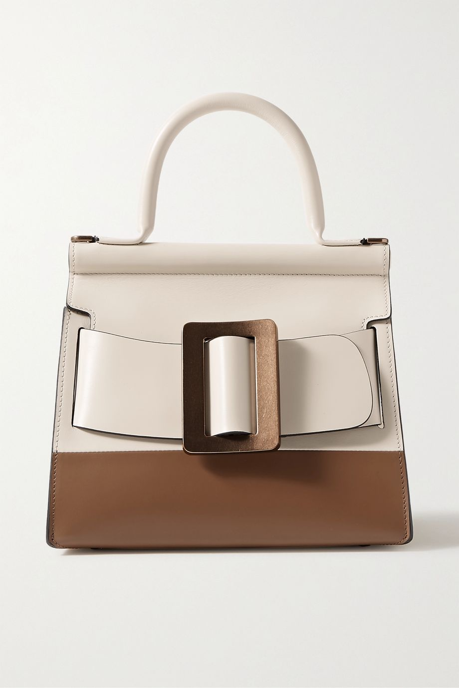 BOYY Karl 24 small buckled two-tone leather tote