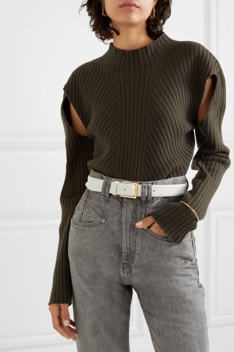 Anderson's Textured-leather belt