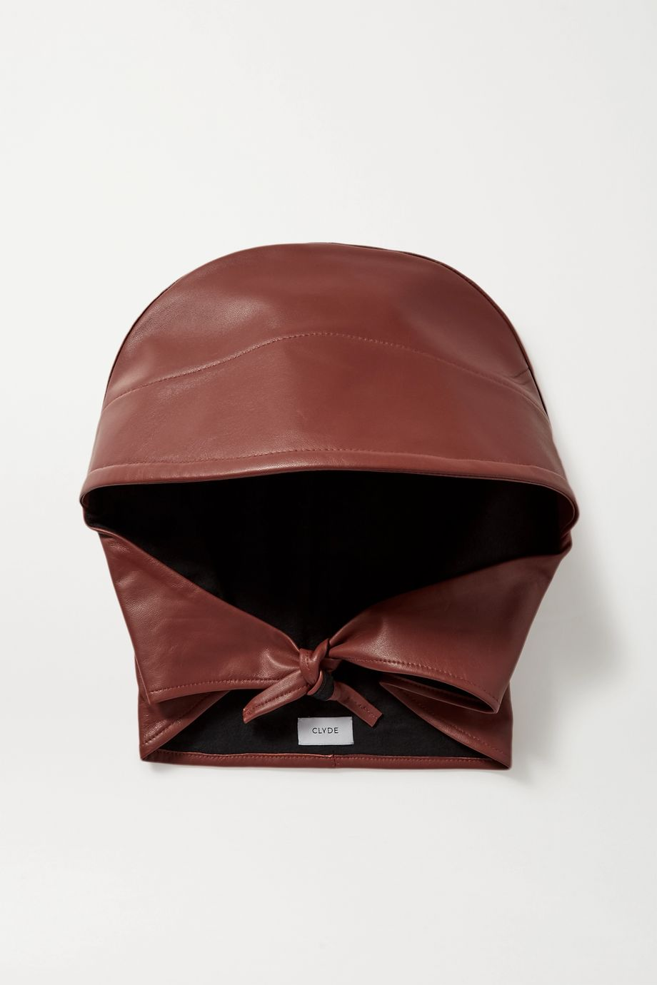 CLYDE Leather hat