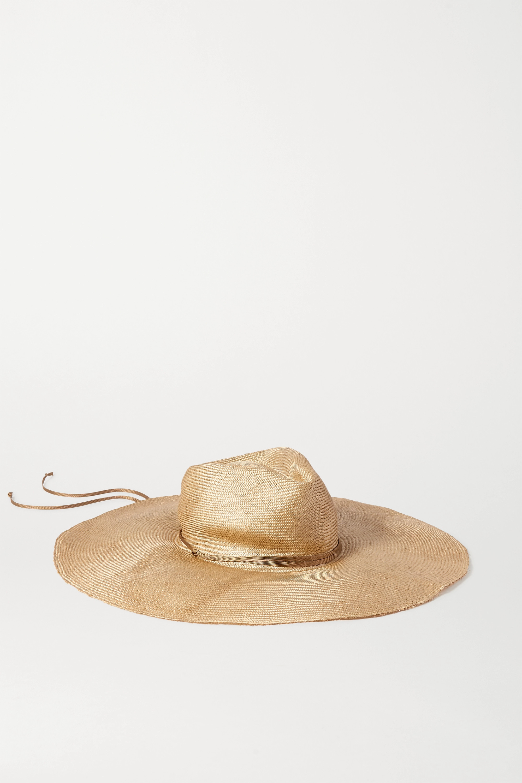 CLYDE Poppy 编织草遮阳帽