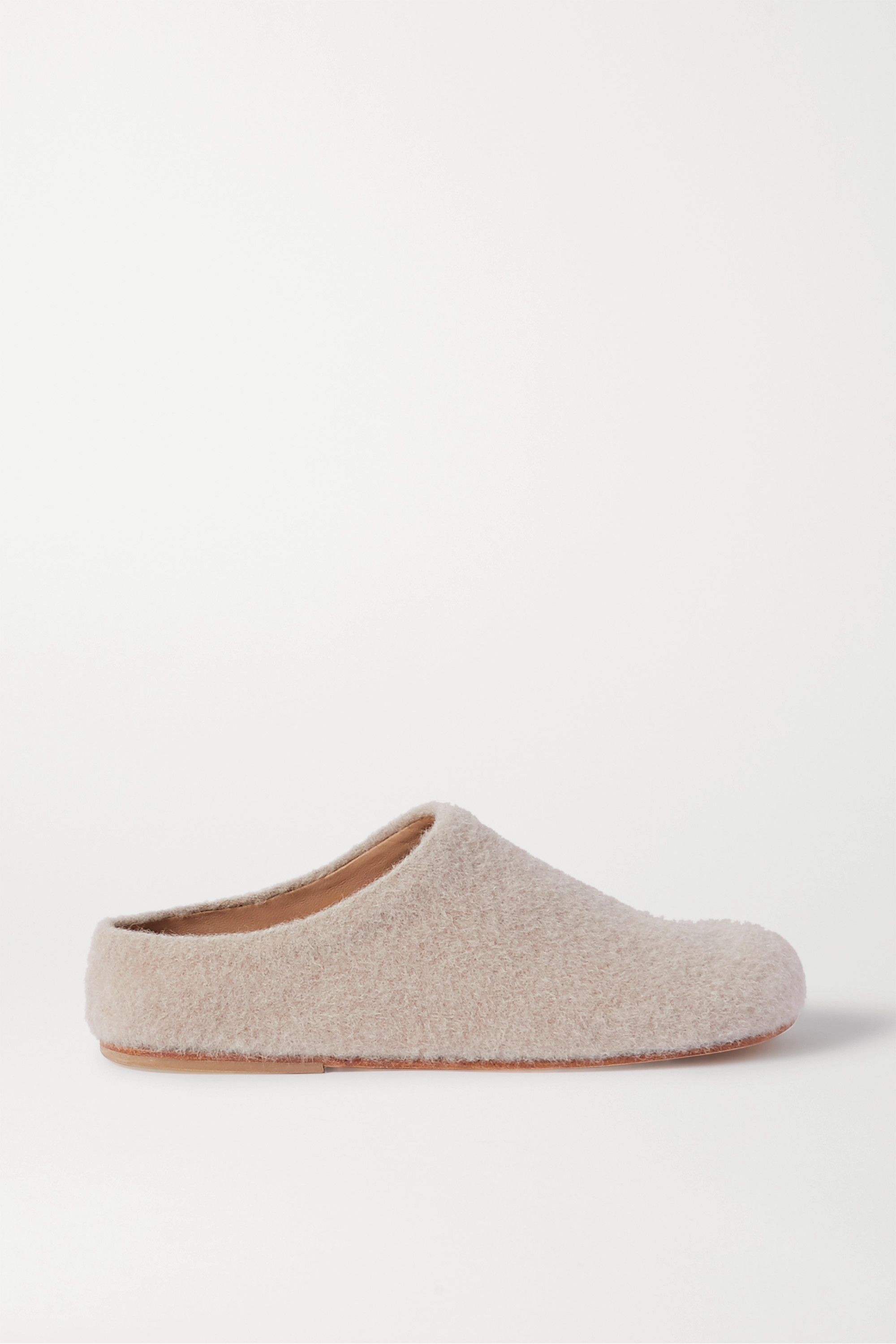Lauren Manoogian Mono alpaca-blend slippers