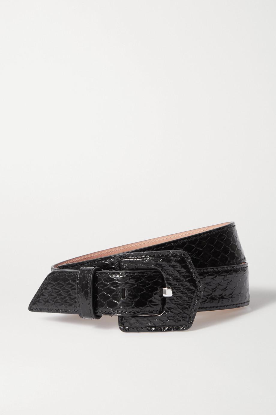 Alaïa Elaphe belt