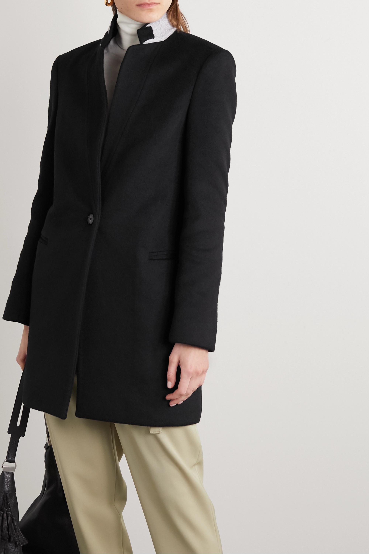 Stella McCartney Wool-felt coat