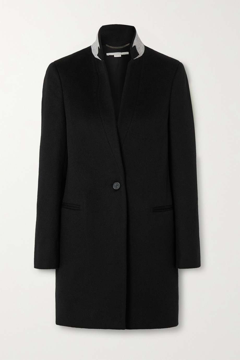 Stella McCartney Wool-felt coat