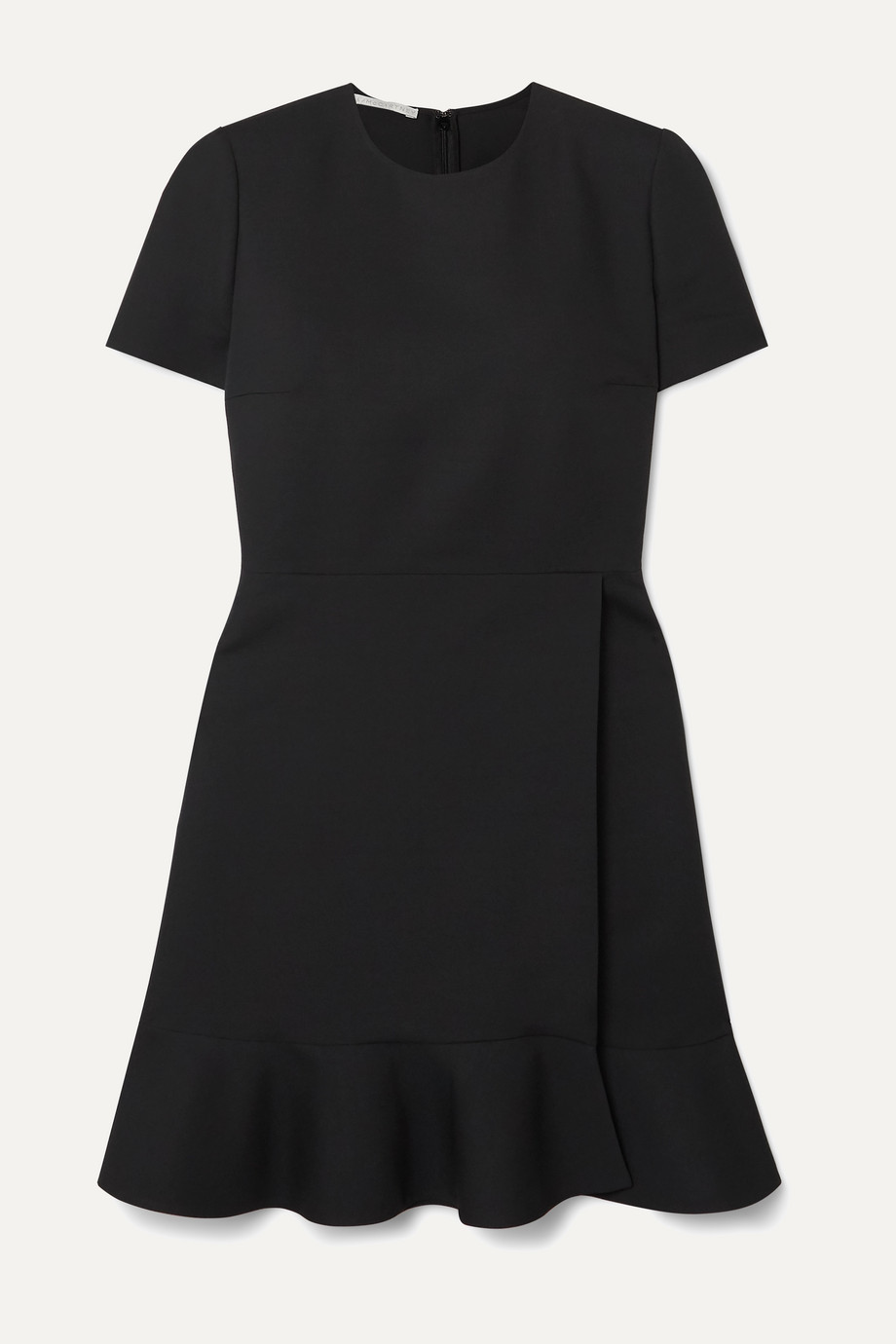 Stella McCartney Ruffled wool-blend dress