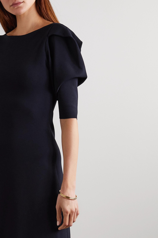 Stella McCartney Minikleid aus Stretch-Strick mit Falten