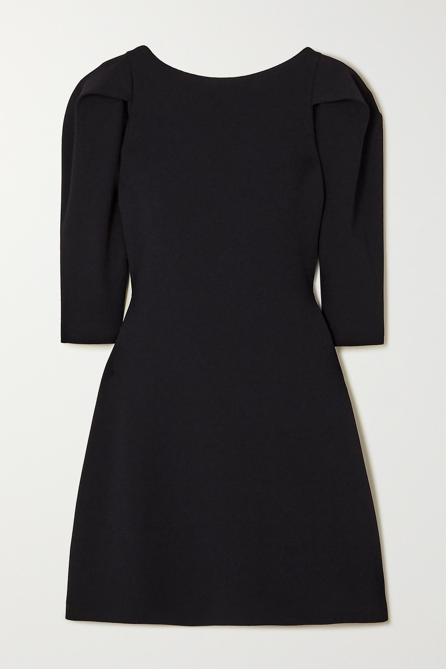 Stella McCartney Pleated stretch-knit mini dress