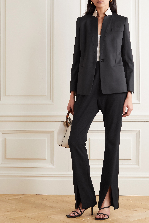 Stella McCartney Two-tone wool blazer