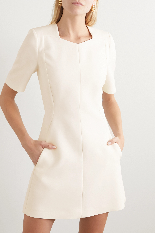 Stella McCartney Wool-blend twill mini dress