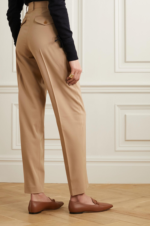 Stella McCartney Wool-blend twill straight-leg pants