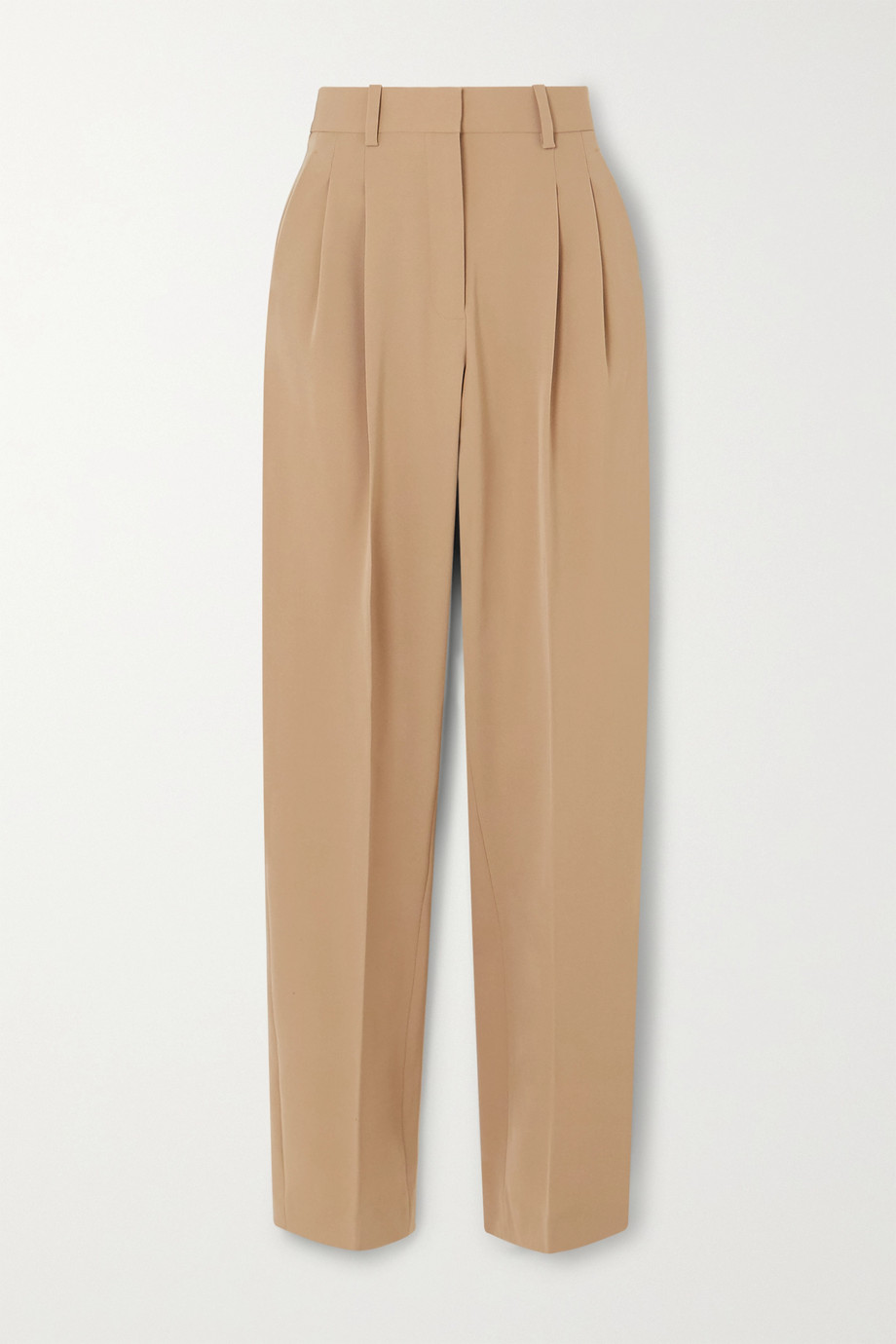 Stella McCartney Wool-blend twill straight-leg pants