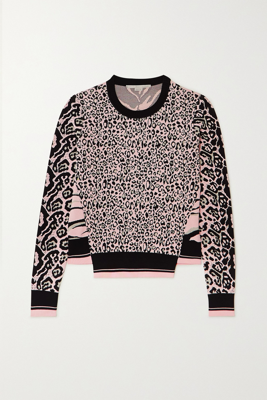 Stella McCartney Jacquard-knit sweater