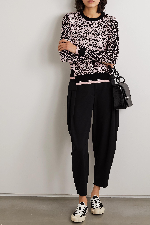 Stella McCartney Jacquard-knit sweater