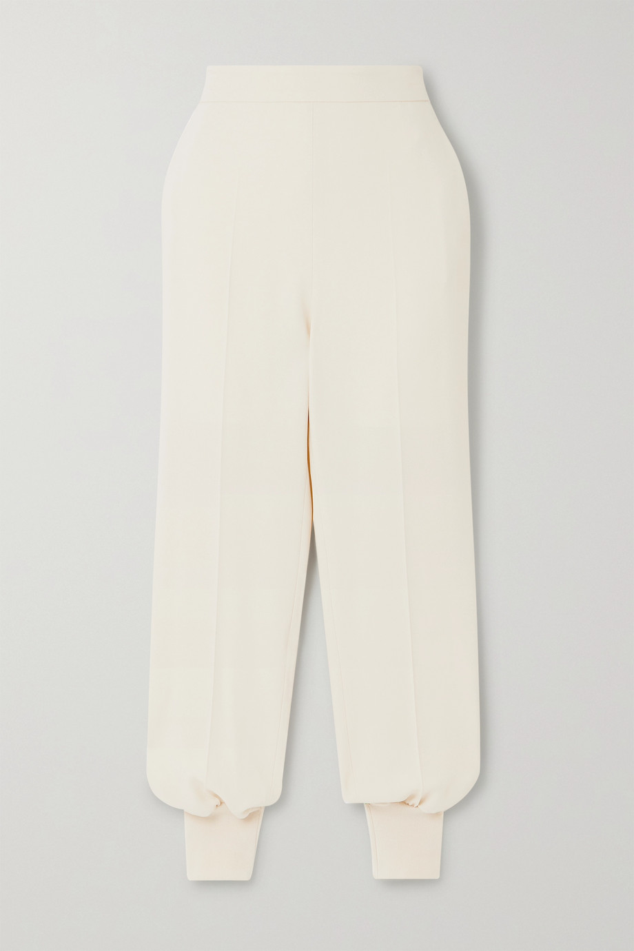 Stella McCartney + NET SUSTAIN stretch-cady track pants