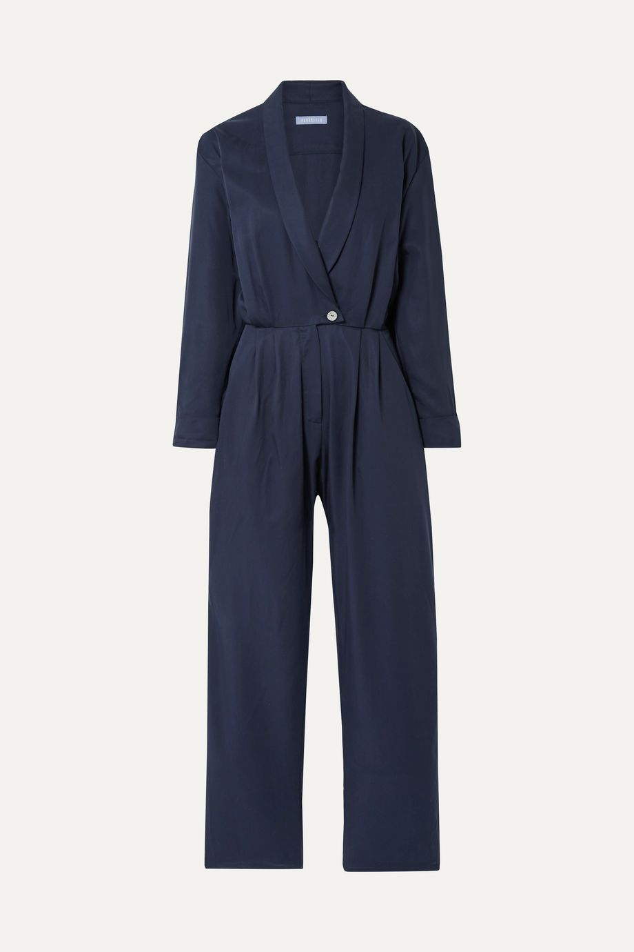 Paradised Jane wrap-effect Tencel jumpsuit