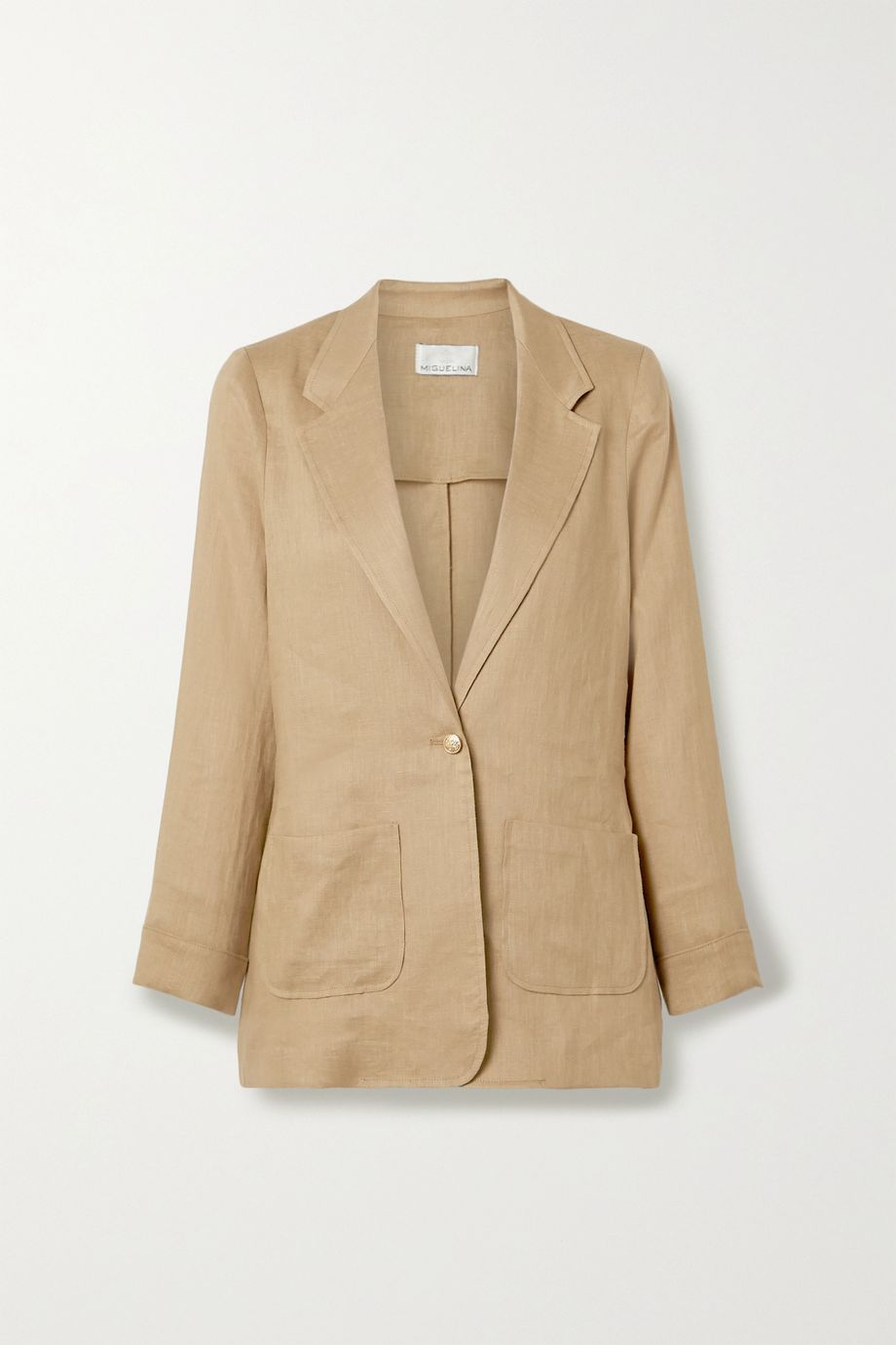 Miguelina Bleecker linen blazer