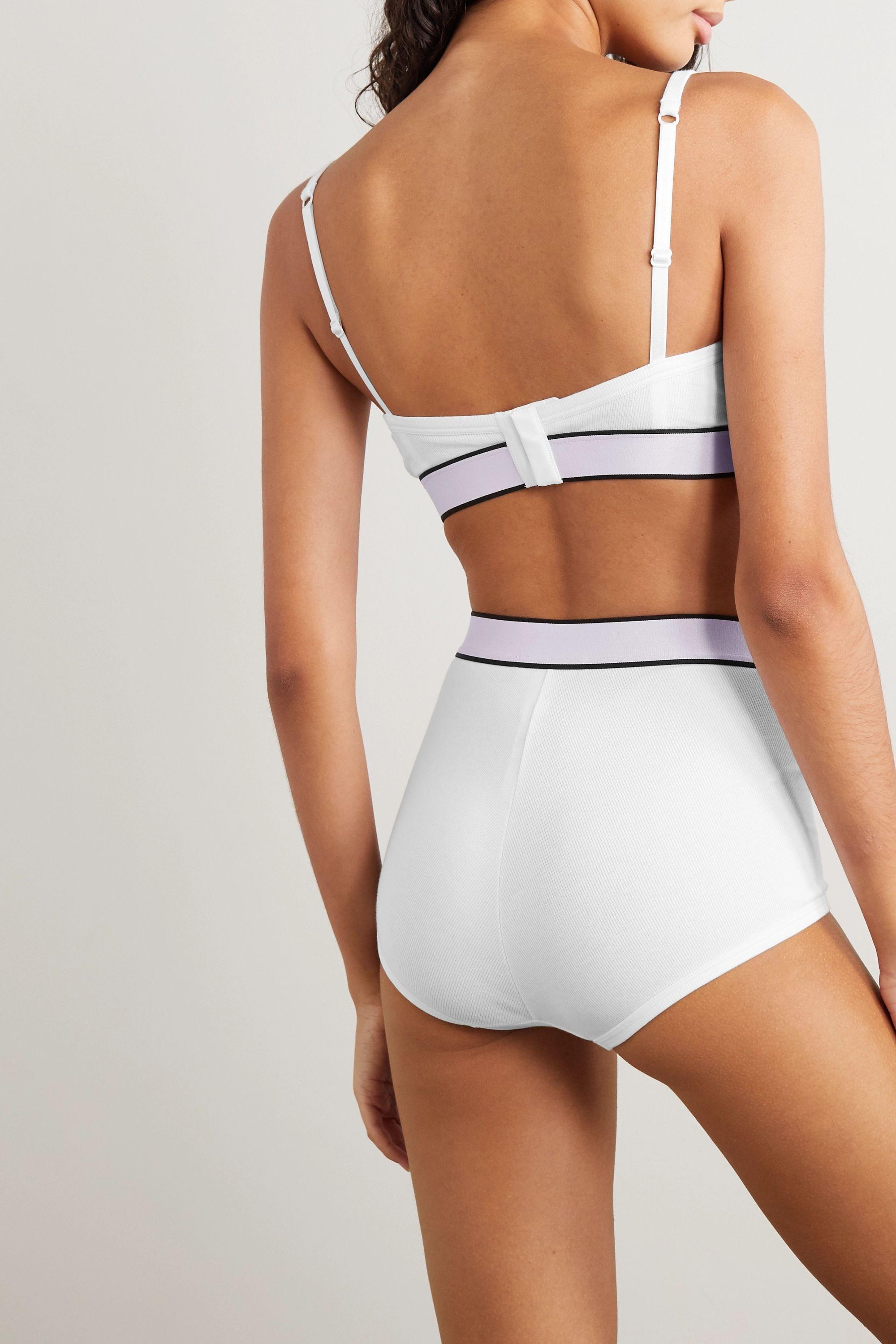Dolce & Gabbana Generation Z ribbed stretch-cotton jersey briefs