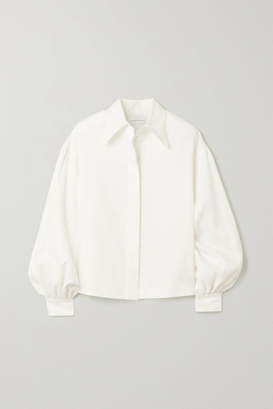 Deveaux Bettina linen shirt