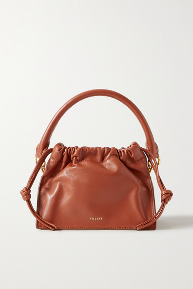 Bom Mini Leather Tote by Yuzefi