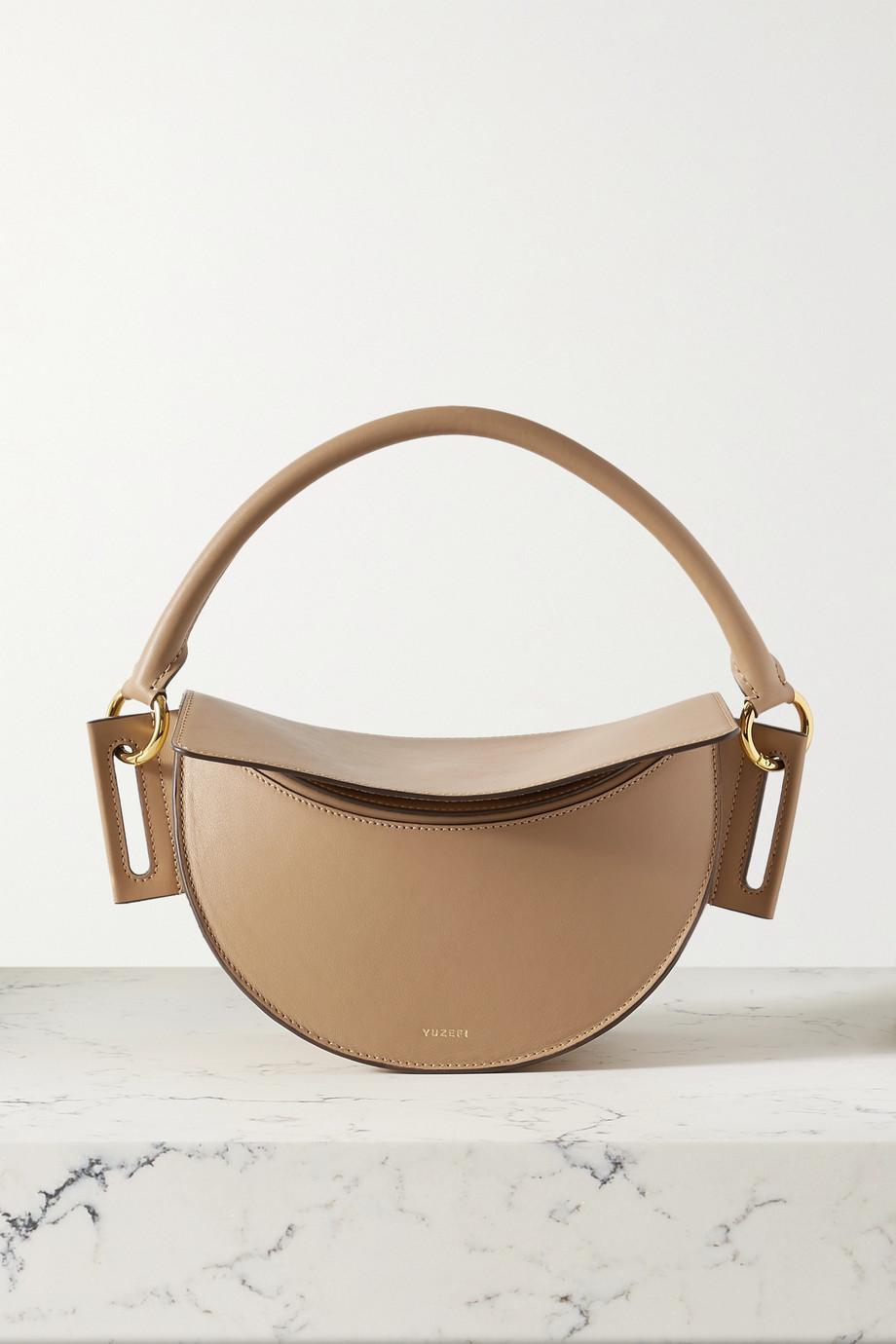 Yuzefi Dip leather shoulder bag