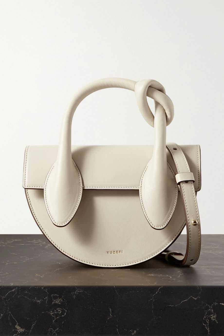 Yuzefi Dolores mini knotted leather tote