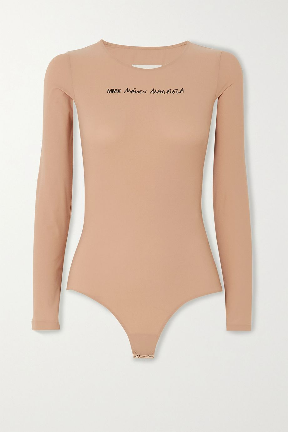MM6 Maison Margiela Body aus bedrucktem Stretch-Jersey