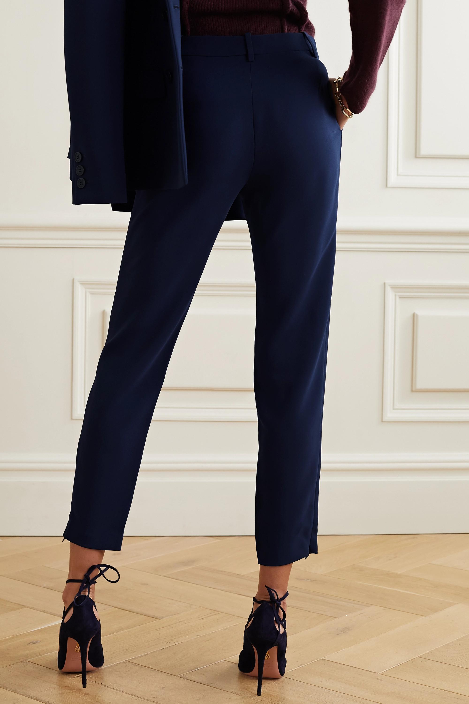 Altuzarra Henri cropped cady slim-leg pants