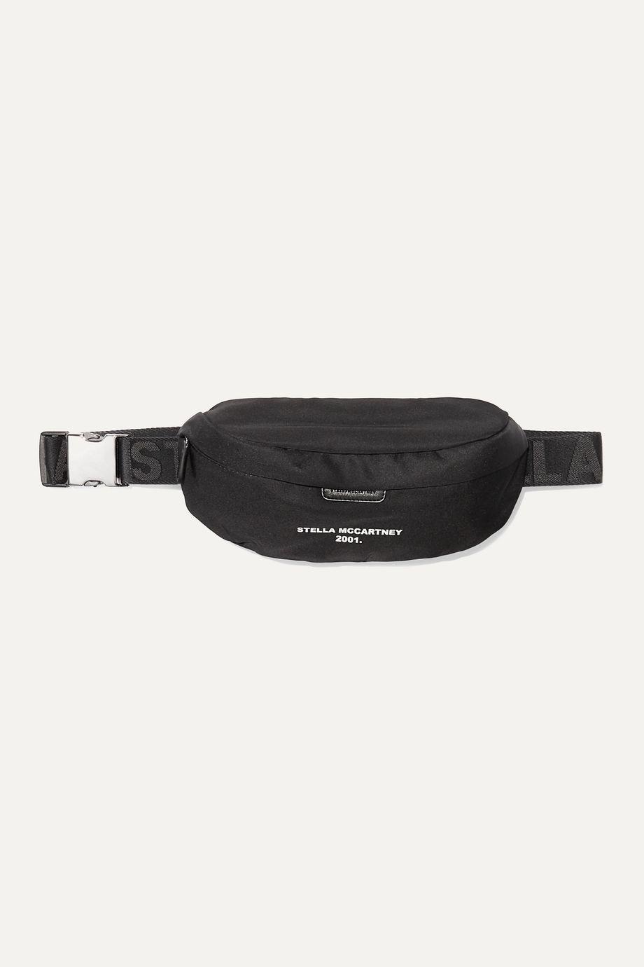 Stella McCartney + NET SUSTAIN printed shell belt bag
