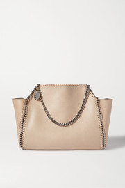 Stella McCartney The Falabella medium vegetarian brushed-leather tote