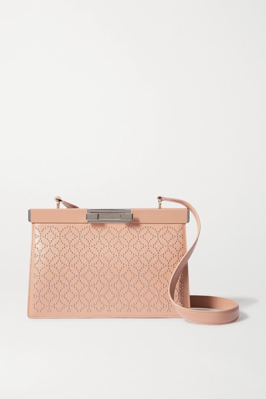 Alaïa Cecile studded leather shoulder bag