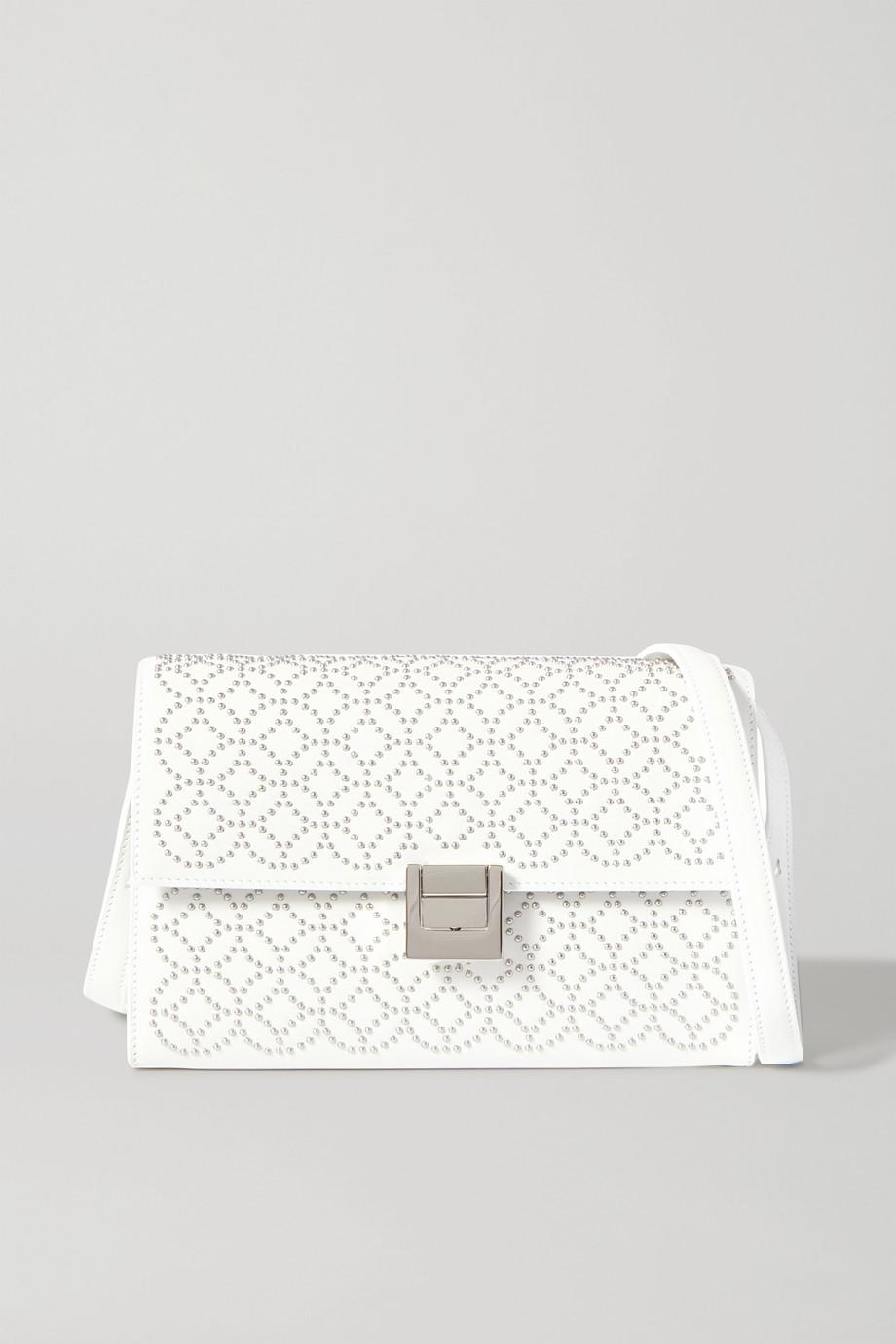 Alaïa Clara medium studded leather shoulder bag