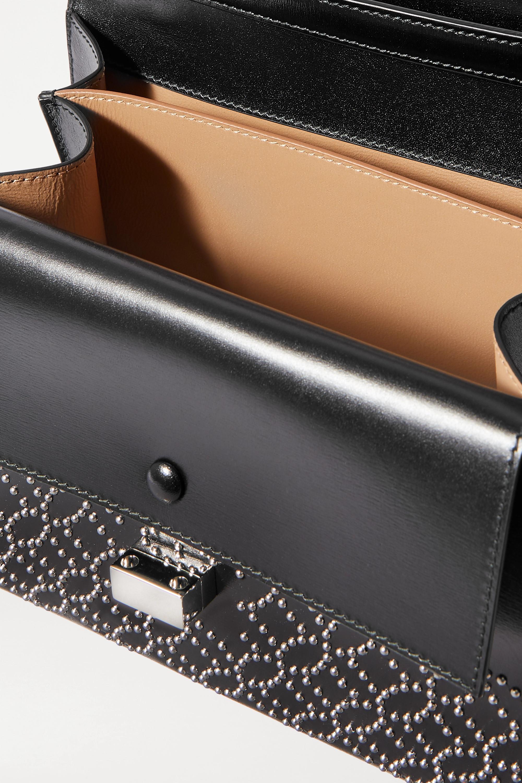 Alaïa Clara studded leather shoulder bag