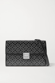 Alaïa Clara studded leather shoulder bag