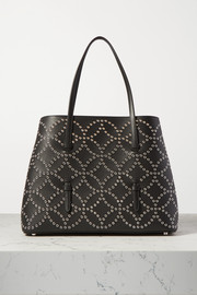 Alaïa Mina medium eyelet-embellished leather tote