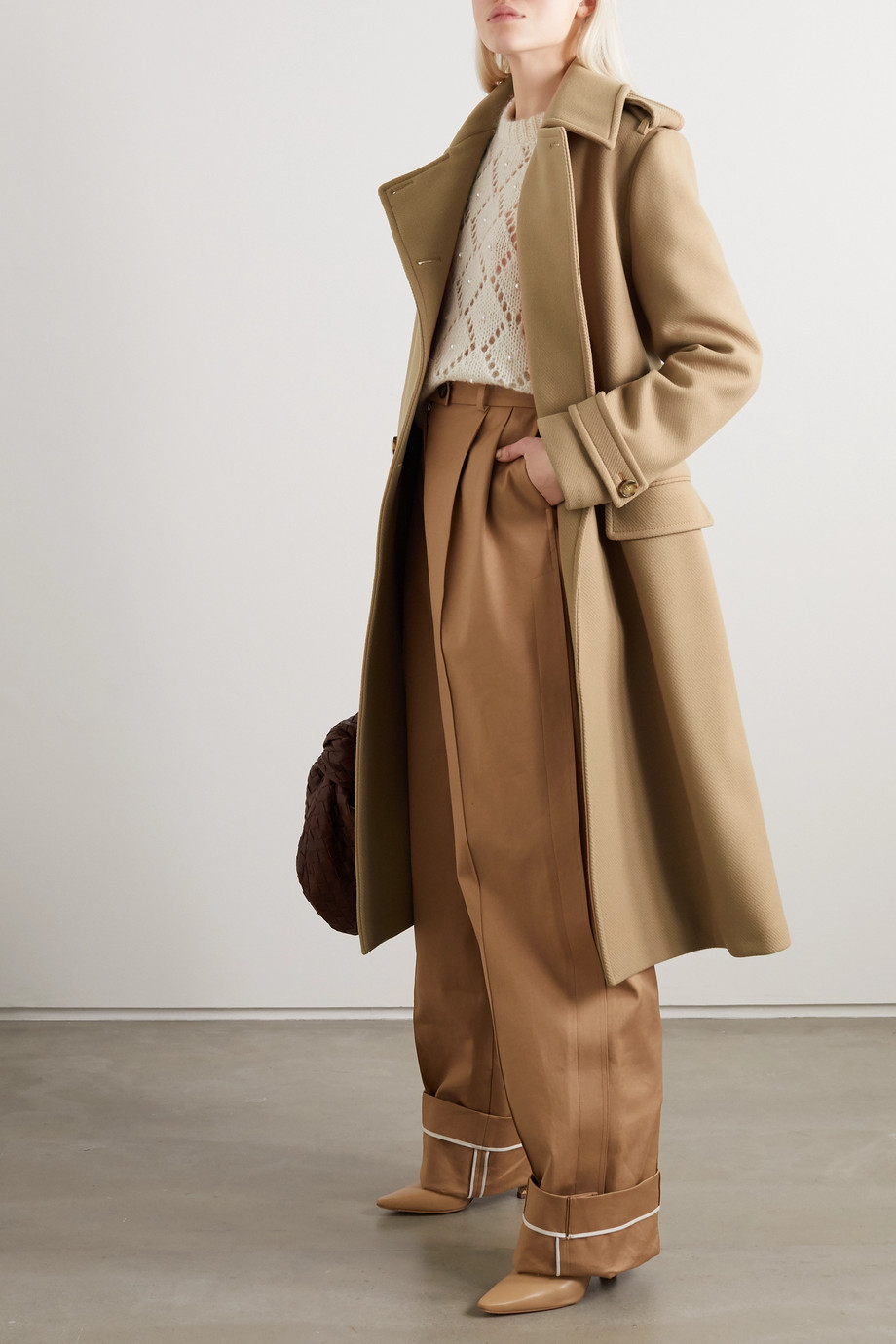 Stella McCartney Wool trench coat