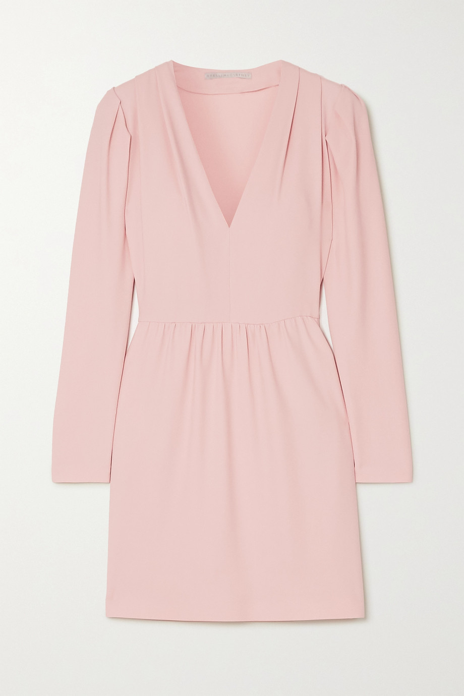 Stella McCartney + NET SUSTAIN stretch-cady mini dress