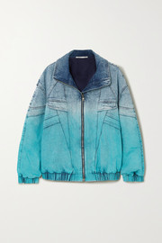 Ombré denim jacket